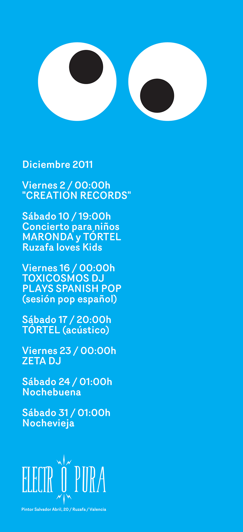 diciembre programación 2011