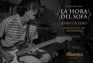 sábado 28-05-2016<br/> concierto acústico <br/>johnny b. zero
