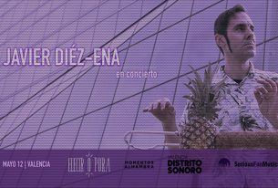 sábado 12-05-2018<br/> concierto acústico <br/>javier díez-ena
